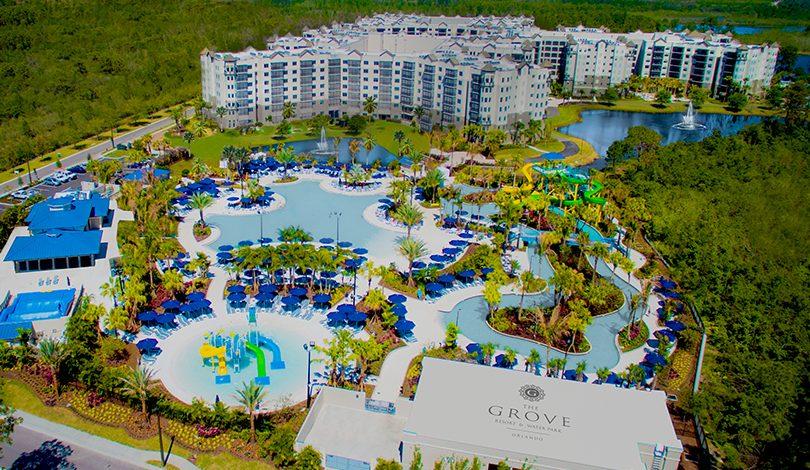 Paisagem no The Grove Resort