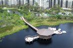Paisagem do The Grove Resort